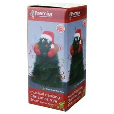 PREMIER MB102526 30CM BATTERY OPERATED  DANCING CHRISTMAS TREE