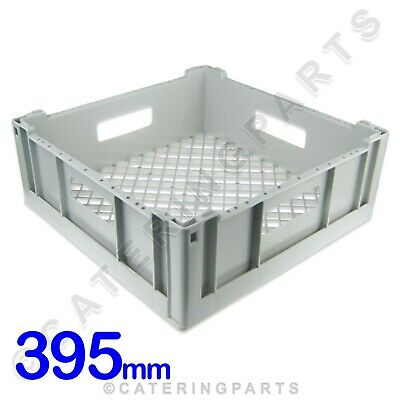 Square Open Glass Rack Tasse Panier 390 mm x 390 mm x 150 mm Lave-vaisselle glasswasher