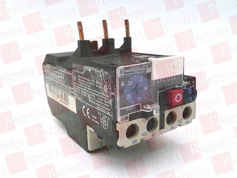 SCHNEIDER ELECTRIC LR2-D1321   LR2D1321 (USED TESTED CLEANED)
