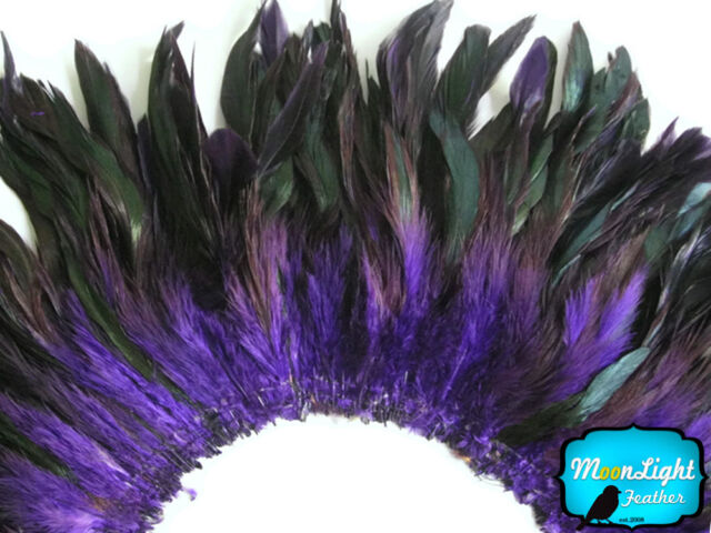 "4-6/"" half bronze brown schlappen coque rooster feathers ~200pcs 20g 0.7oz"