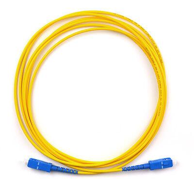 10pc//Lot 3M SC-ST Simplex Single-Mode 9//125 Patch Cord Fiber Optic Cable Jumper