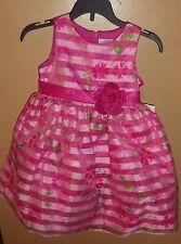 ... Little Girls Fuchsia Pink Stripe Floral Print Dress w Tulle.  36.00.  Free shipping. Little Girls Red Zebra Stripe Ribbon Tie Bolero Taffeta  Christmas ... b8b40498a