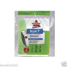 Genuine Bissell Style 7 Vacuum Cleaner Bag  3 pk #32120