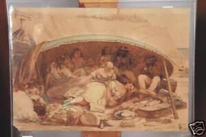 WILLIAM-J-WEBBE-ACT-1853-1878-ORIGINAL-WATERCOLOR