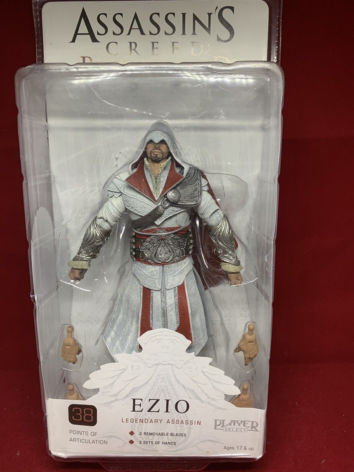 EZIO HOODED HOODED HOODED LEGENDARY ASSASSIN IVORY Assassin's Creed Bredherhood 7  Figure 3a9d8c