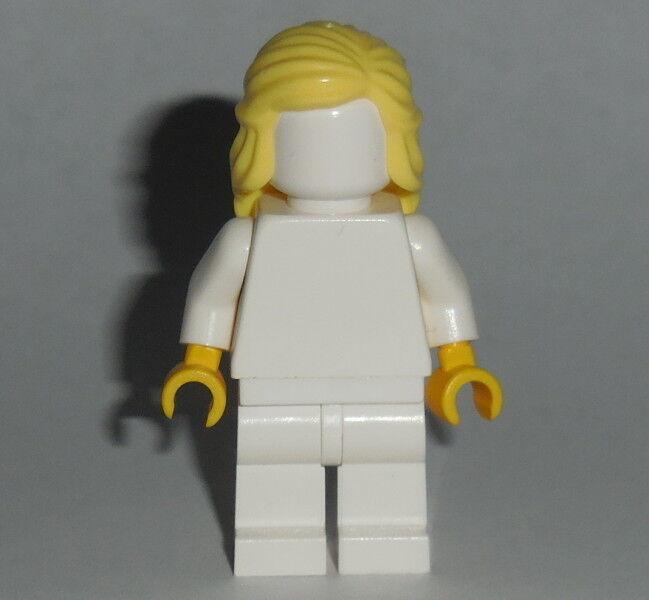 HAIR Lego F017 Female Bright Lt Yellow Mid Length Braid around Sides NEW Unisex