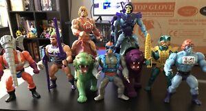 Masters-Of-The-Universe-Lot-Vintage-Panthor-Skeletor-Complete-Motu-He-man-Faker