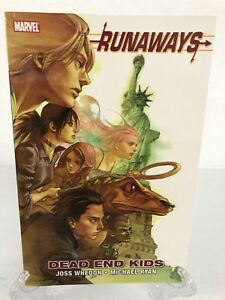 Runaways-Volume-8-Dead-End-Kids-Col-25-30-Marvel-Comics-New-Trade-Paperback-TPB