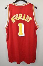 Houston Rockets #1 Tracy McGrady Jersey XL Reebok Red NBA Basketball T-Mac