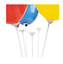 10-Pcs-White-Balloon-Sticks-Holders-with-Cups-for-Wedding-Party-Decor thumbnail 1