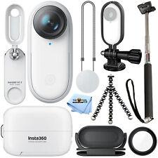 Insta360 GO 2 Miniature Action Camera + Frame Holder + Tripod + Selfie Stick Kit