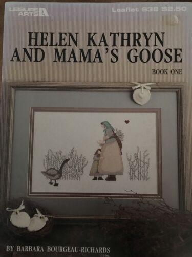 Helen Kathryn /& Mama De Ganso Tabla De Punto De Cruz Libro Uno