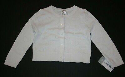 Sweaters Nuevo Carter's Para Niñas Clothing, Shoes & Accessories Color Blanco Jersey Cárdigan Corazón Pointelle Diseño Distinctive For Its Traditional Properties