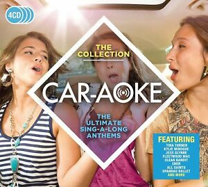 Car-Aoke-The-Collection-New-amp-Sealed-4CD