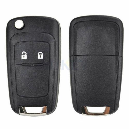 2 Tasten Auto Remote Key Hülle für Opel Adam Astra J Insignia Mokka Zafira Corsa