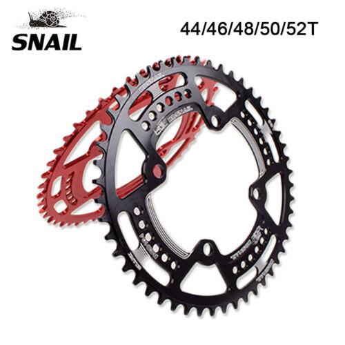 SNAIL 104BCD 44-52T Mountainbike schmal breit Charinring Fahrrad Kettenblatt