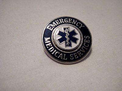 lapel pin Fire Fighter hatpin EMT   E.M.T tie tac Hat pin