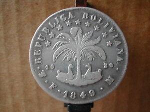 Bolivia-silver-plata-argento-8-soles-1849-FM-non-comune-KM-109