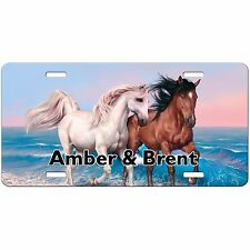 HORSES PERSONALIZED LICENSE PLATE CUSTOM CAR TAG HORSE BEACH VANITY PLATE