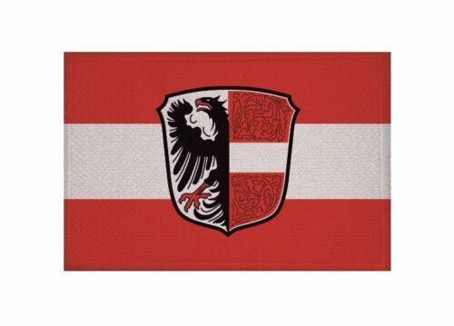 Aufnäher Garmisch-Partenkirchen Fahne Flagge Aufbügler Patch 9 x 6 cm