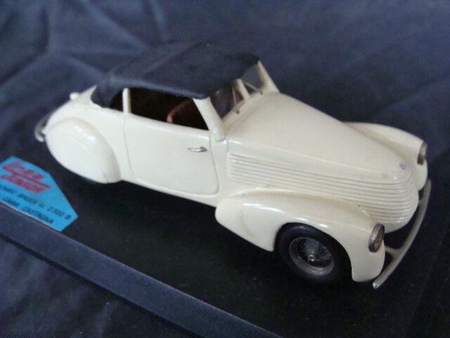 Alfa romeo spider Pescara bodywork Chestnut Idea Junior 1 43 Old toys vintage