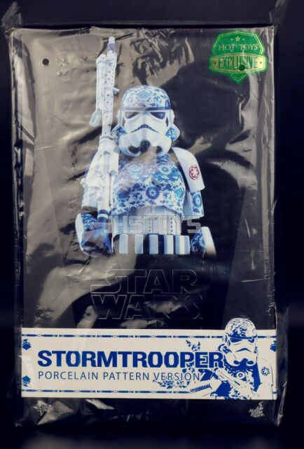 Ready Hot Toys Mms401 Star Wars Stormtrooper Porcelain Pattern Version