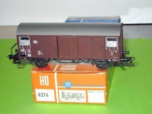 fuer-AC-Maerklin-Roco-4374-gedeckter-Gueterwagen-Gls-DB-Ep-4