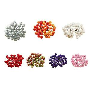 Colorful-Mini-Christmas-Fruit-Berry-Holly-Artificial-Decoration-Flower-Home-O3D1