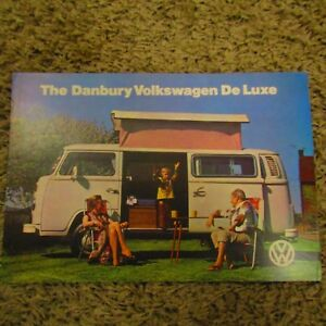 Danbury Vw Volkswagen De Luxe 1584cc 1 6 Camper Van Motor Home Uk Brochure Ebay