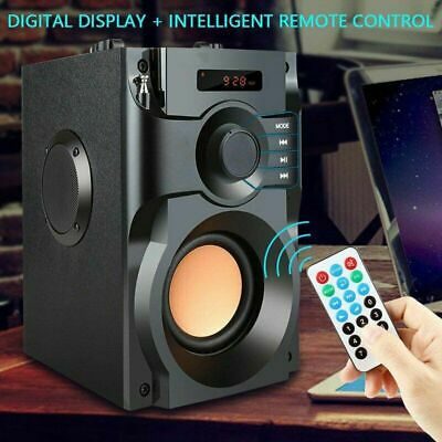 Portable Wireless bluetooth Speaker Subwoofer Loud Bass Stereo Outdoor Soundbar