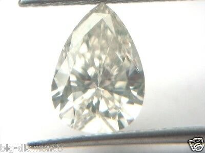 1.00cts I Color SI 1 clarity Natural Real Earth Mined Pear Shape Loose Diamond