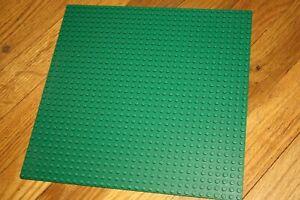 LEGO GENUINE GREEN 32 X 32 STUD 10 X 10 INCH BASEPLATE PLATFORM PLATE