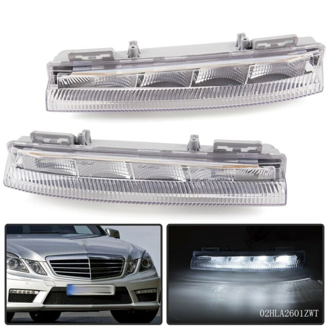 With Day Running Light;Non Light Package Fog Lights For 10-14 Mercedes E-Class