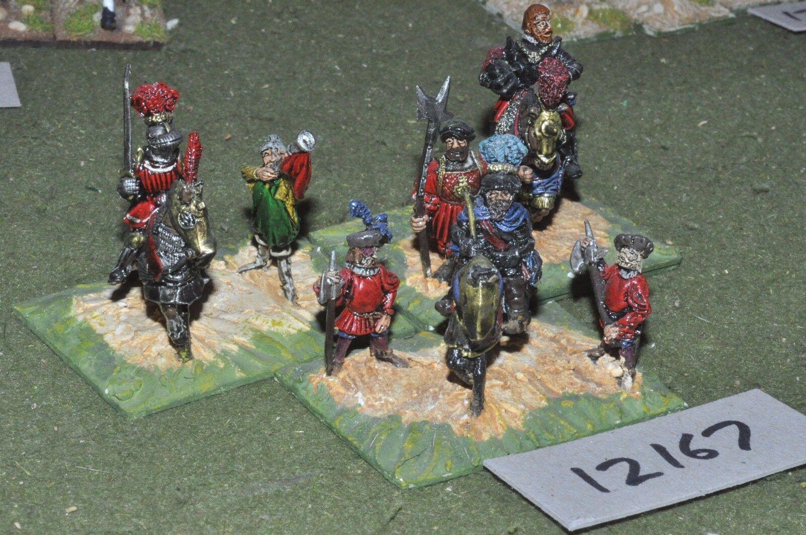 25mm renaissance   generic - command 7 figures - command (12167)