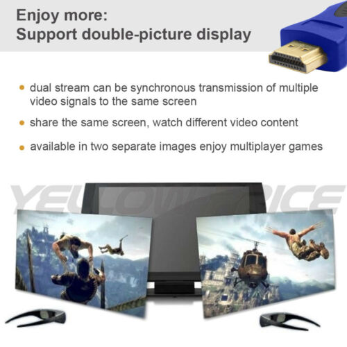 High Quality HDMI Cable 3//6FT 1//2M V2.0 3D 2160P Ethernet 4K @60Hz HDTV LCD LED