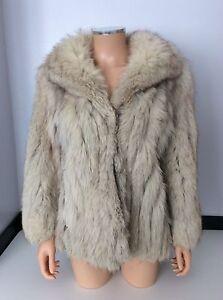 Image Is Loading Saga Fox London Vintage Fur Coat Jacket Size