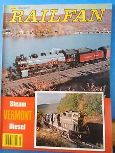 Details about Railfan Magazine 1979 March Vol 2 # 9 Vermont Steam Diesel  Alcos of Vancouver