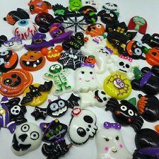 20pcs Mix Halloween Flatback resin Cabochon for Phone decoratin diy supplies