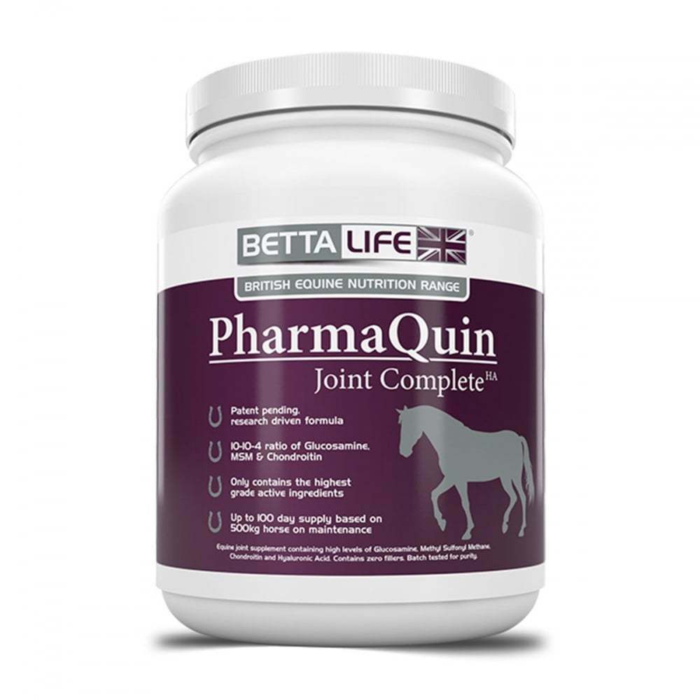 BETTALife PharmaQuin Joint Complete HA Equine - 1KG