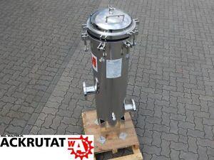 3M Filtergehäuse Kessel Druckbehälter Edelstahl Filter 97l ...