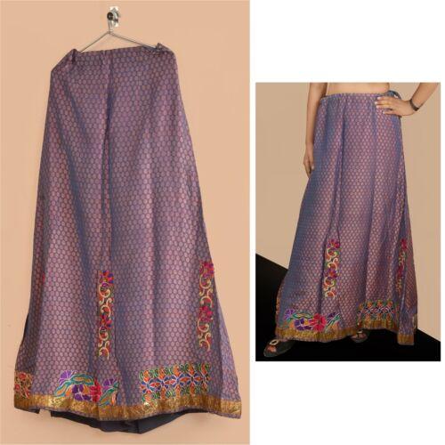 Tcw   Woven Lehenga Brocade Long Skirt Party Purpl