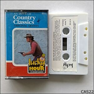 An-Hour-Of-Country-Classics-Original-Artists-Tape-Cassette-C22