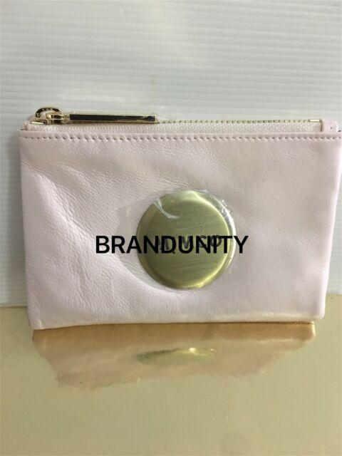 Mimco MIM SMALL FOLD Wallet Clutch Purse BNWT $149 Purple shadow Pink