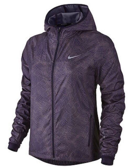 9e61f8019dde Nike Element Shield All Over Print Full Zip Women s Running Jacket Size XS  for sale online