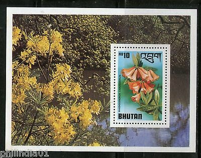 Stamps Earnest Bhutan 1976 Tree Plant Flowers Forest Sc 211 M/s Mnh # 5078 Moderate Price Asia