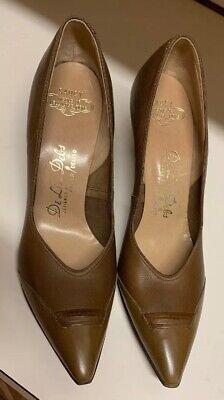 1960's vintage women's de liso debs high heel shoes pumps