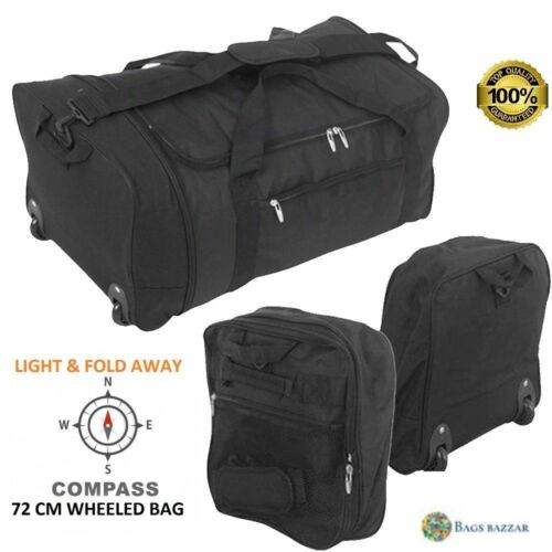 """X Large 30/"""" pliable à roulettes sac Holdall Bagage Voyage Sport Week-end Carry Case"""