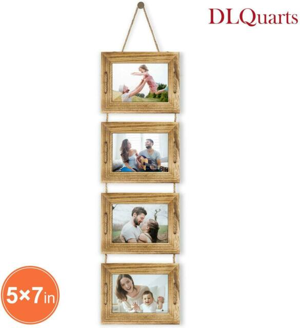 Photo Pic Collage Frame Rope Rungs