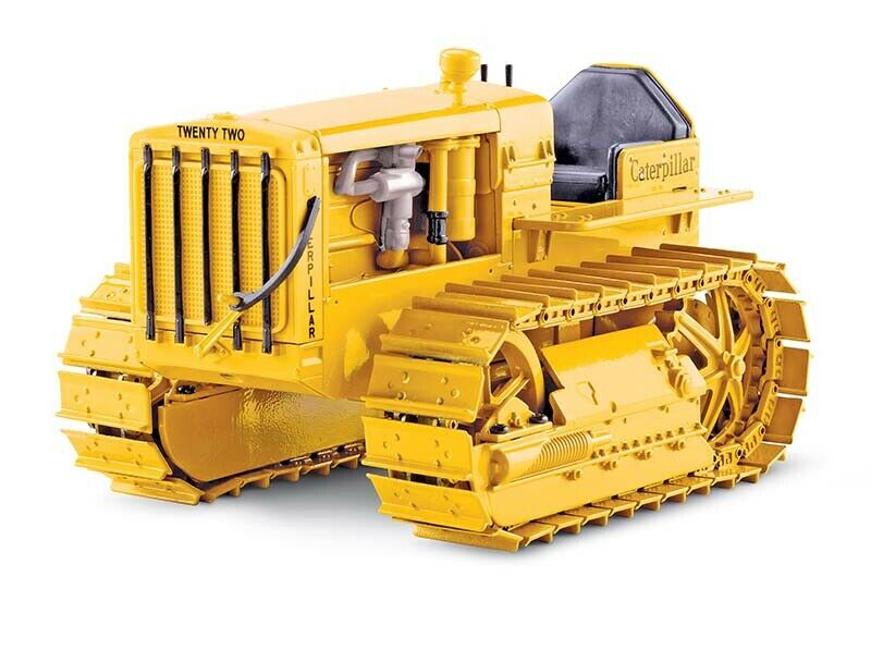 Norscot 55154 catpell 22 tractor oruga, oruga metálica 1   16 fundición de MIB