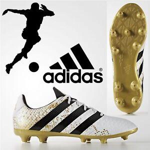 ADIDAS-ACE-16-3-FG-Homme-Chaussures-De-Football-Ferme-Sol-Moule-Clous-Baskets